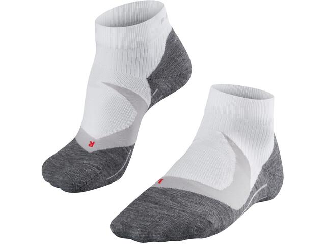 Falke RU 4 Cool Korte Sokken Heren, white mix